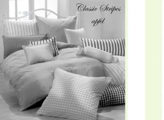 Vichy-Bettwäsche-apfel-Classic-Stripes