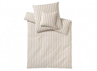 Elegante-Bettwäsche-Classic-Stripes-sand