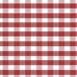 Karo Bettwäsche in der Farbe bordeaux rot