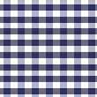 Karo Bettwäsche in der Farbe marine