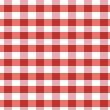 Karo Bettwäsche in der Farbe rot